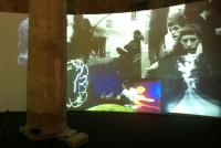 Stan VanDerBeek: Moviedrome (Installation at Venice Biennale, 2013) Photo: kg