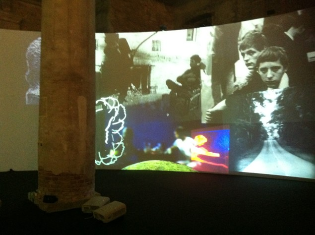 Stan VanDerBeek: Moviedrome (Installation at Venice Biennale, 2013) Photo: kg
